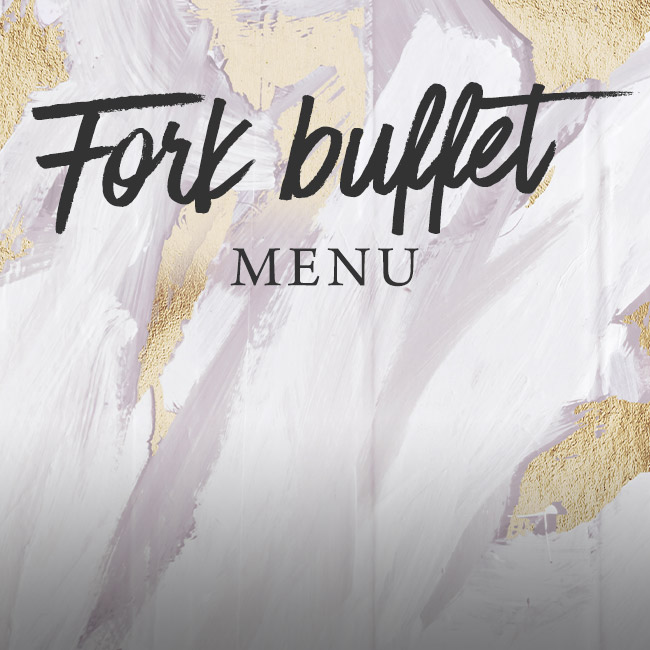 Fork buffet menu at The Black Horse