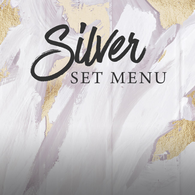Silver set menu at The Black Horse
