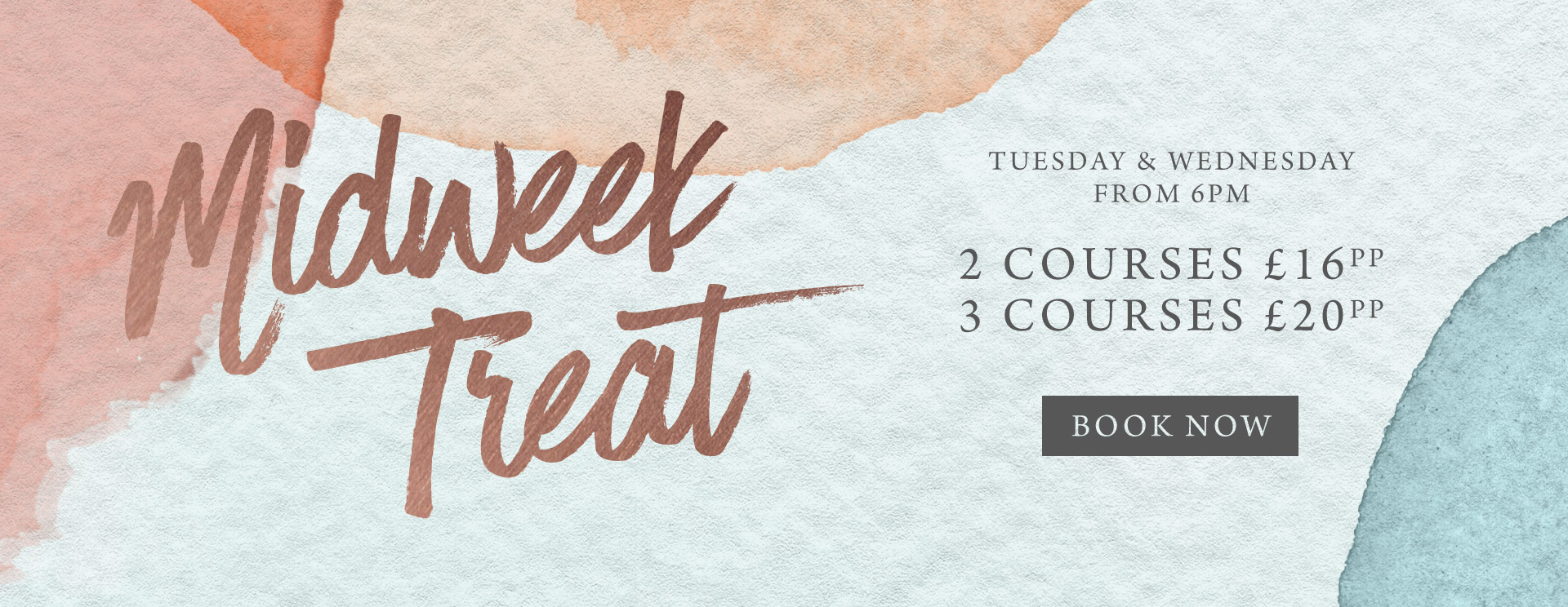 Midweek treat at The Black Horse - Book now
